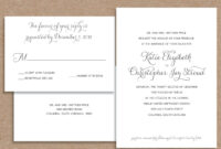 Wedding Invitation Acceptance Letter | Invitation Templates pertaining to Acceptance Card Template