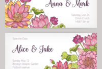 Wedding Invitation And Save The Date Card pertaining to Save The Date Cards Templates