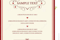Wedding-Invitation-Cards-Templates | Wedding Invitation Card in Sample Wedding Invitation Cards Templates
