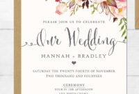 Wedding Invitation Sample Cards | Invitation Templates (Free) regarding Sample Wedding Invitation Cards Templates