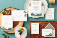 Wedding Invitation Suite Components | Paper Source with Paper Source Templates Place Cards