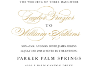 Wedding Invitation Wording Samples in Sample Wedding Invitation Cards Templates
