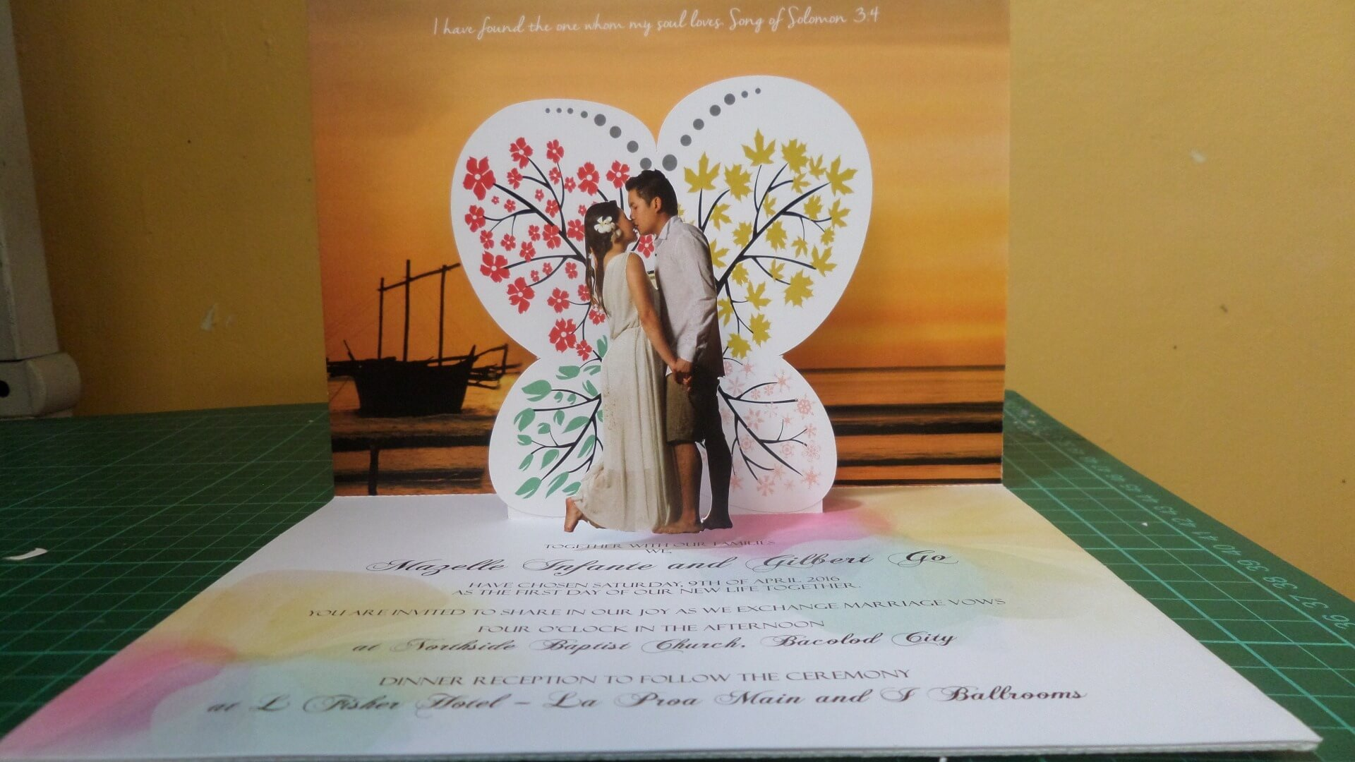 Wedding Pop Up Invitations   Pop Up Occasions Within Wedding Pop Up Card Template Free
