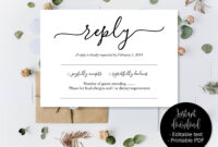 Wedding Rsvp Cards, Wedding Reply Attendance Acceptance for Death Anniversary Cards Templates
