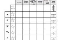 Weekly Behavior Report Template.pdf – Google Drive throughout Pupil Report Template