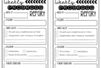 Weekly Behavior Report Template ] – Search Results For for Daily Behavior Report Template
