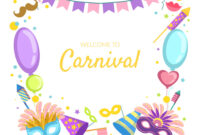 Welcome To Carnival Banner Template Celebration Intended For Welcome Banner Template
