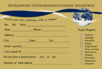 Welcome To Rhema Church Cards | Jesus Is Lord regarding Church Visitor Card Template Word