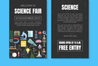 Welcome To Science Fair Invitation Card Template regarding Science Fair Banner Template