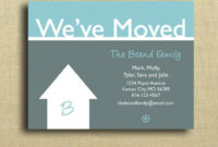 We're Moving Cards Free Printable – Google Search | Moving pertaining to Moving House Cards Template Free