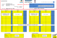 What Do The Referees Write During The Matches? – Sports pertaining to Soccer Referee Game Card Template