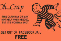 What Does Get Out Of Jail Free Card Mean? | Slang in Get Out Of Jail Free Card Template