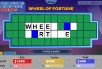 Wheel Of Fortune For Powerpoint – Gamestim throughout Wheel Of Fortune Powerpoint Game Show Templates