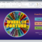 Wheel Of Fortune For Powerpoint - Gamestim within Wheel Of Fortune Powerpoint Game Show Templates