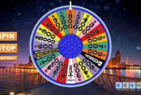 Wheel Of Fortune Spinning Wheel | Wheel Of Fortune intended for Wheel Of Fortune Powerpoint Template