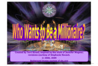 Who Wants To Be Millionaire- Powerpoint Game Template regarding Who Wants To Be A Millionaire Powerpoint Template