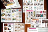 Wholesale Catalog Template-Id06 | Product Catalog Template pertaining to Word Catalogue Template