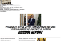 Why Drudge Report Remains The Best-Designed News Website Of within Drudge Report Template
