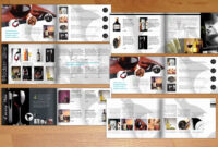 Wine – A5 Modern Catalogueflyer King On Creative Market within Wine Brochure Template