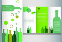 Wine Brochure | Wine Brochure Design Template — Stock Vector with regard to Wine Brochure Template