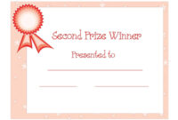 Winner Certificate Templates Free | Certificate Templates throughout First Place Award Certificate Template
