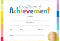 Wonderful Free Printable Certificate Templates – Ironi intended for Free Kids Certificate Templates