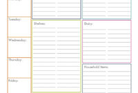 Word Grocery List Template – Zimer.bwong.co with Blank Checklist Template Pdf