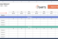 Work Hedule Spreadsheet Planner Templates Plan Excel with Hours Of Operation Template Microsoft Word