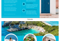 World Travel Tri Fold Brochure pertaining to Travel And Tourism Brochure Templates Free