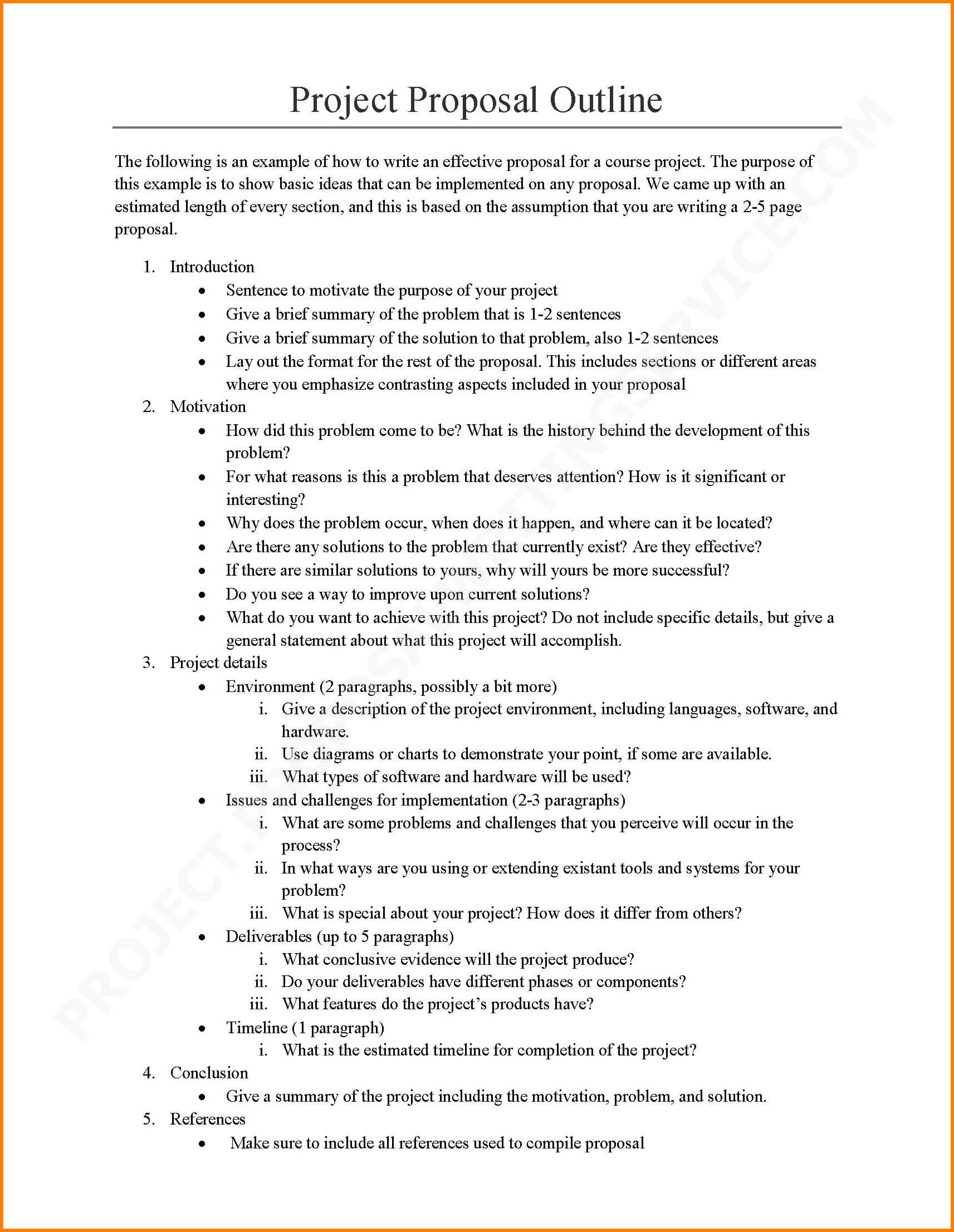 Writing A Project Proposal Template – Zimer.bwong.co Within Software Project Proposal Template Word