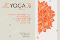 Yoga Gift Certificate Templates | Gift Certificate Templates Inside Yoga Gift Certificate Template Free