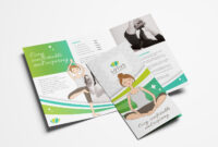 Yoga Studio Tri-Fold Brochure Template In Psd, Ai & Vector regarding Tri Fold Brochure Ai Template