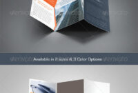 Z-Fold Brochure Templates From Graphicriver with Z Fold Brochure Template Indesign