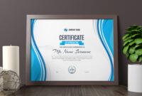 Zeus Landscape Certificate Template | Certificates pertaining to Landscape Certificate Templates