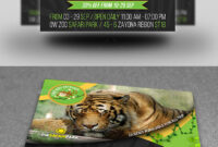 Zoo Flyer Graphics, Designs & Templates From Graphicriver within Zoo Brochure Template