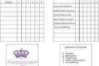 Zoo Internships: Homeschool Report Card Template within Homeschool Report Card Template Middle School